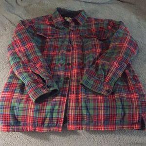 L.L. Bean Jackets & Coats - L.L Bean Insulated Flannel